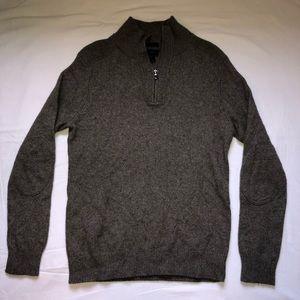 J. Crew Men's Slim Fit Grey Sweater